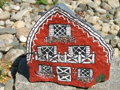 painted rock houses - Bing Images
