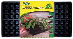 Pin it :-) Follow us :-)) zGardensupply.com is your Garden Supply Gallery ;) CLICK IMAGE TWICE for Pricing and Info SEE A LARGER SELECTION of germination trays at http://zgardensupply.com/category/garden-supply-categories/plant-germination-equipment/germination-trays/ - garden, gardening, gardening gear  -  Jiffy Easy Grow Greenhouse « zGardenSupply