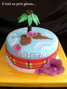Gâteau Guadeloupe madras hibiscus cake