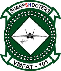 "Marine Fighter Attack Training Squadron 101 (VMFAT-101), Miramar Marine Corps Base ""Sharpshooters'"
