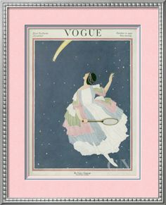 Vogue Cover - October 1921 Poster Print by George Wolfe Plank at the Condé Nast Collection