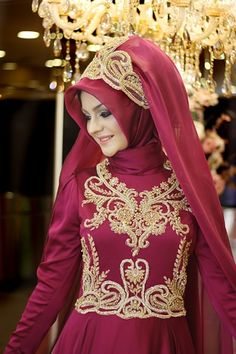Pınar Şems - Fuşya Sahra Abiye