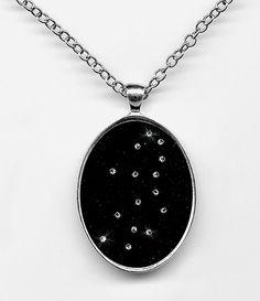 Constellation Jewelry Virgo Pendant Zodiac Jewelry by MarkStudio, $35.00