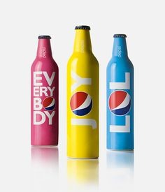 Pepsi's collectable bottles for summer #design #packaging