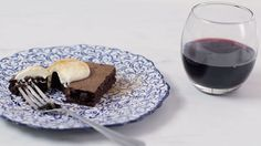 <p>Give chocolate brownies a festive twist by adding spices and mulled wine for an indulgent Christmas treat. Serve warm with crème fraîche, or ice cream</p>