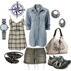 perfect day hike attire!