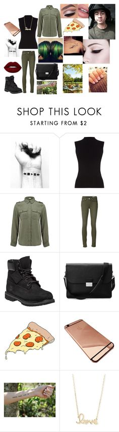 """""""Picknick with Calum."""" by alexis-kitten on Polyvore featuring Oasis, Frame Denim, rag & bone/JEAN, Timberland, Aspinal of London, Tattly, Sydney Evan and Lime Crime"""