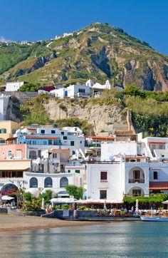 Coast of Ischia, Gulf of Naples, Italy Campania