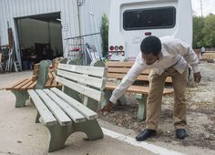 PEORIA — Bus benches are missing from the streets of Peoria but there's no mystery involved.