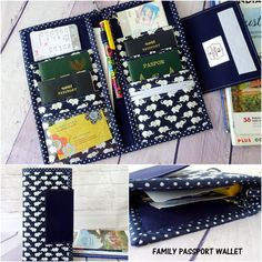 This listing is for SEWING PATTERN and NOT A FINISH PRODUCT. Travelling with family means you need to keep all your travel documents neatly organized. This family passport travel wallet is designed with that in mind. This Family Passport Wallet also will help you be organized even when you're not travelling. This will be especially helpful if you're living in another country where you need to keep all your immigration related documents in one place. It has a sturdy design to last you many…