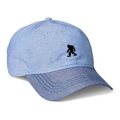 Men's New Bigfoot Baseball Cap - Blue One Size