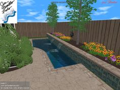 Big Ideas for small yards, swimming pool design ideas for small yards | JimChandlerPools.com