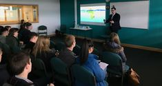 Spar training manager Chris Chadford visited Blackpool Sixth Form College last week as part of the Working Options in Education initiative, which delivers Sixth Form College, Training Manager, Aim High, Future Career, Life Skills, Insight, Students, Education, School