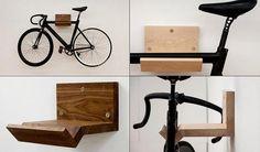 Se eu tivesse uma bike, eu a guardaria assim!