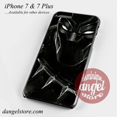 Black Panther Marvel Phone Case for iPhone 7 and iPhone 7 Plus