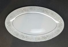 Camelot China Carrousel 1315 Gravy Boat Underplate Only Dish Oval Platter   Pottery & Glass, Pottery & China, China & Dinnerware   eBay!
