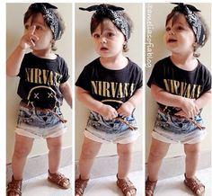 Cute little rocker out fit