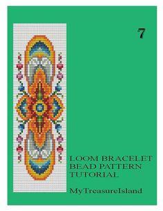Bead Loom Vintage Motif 5 6 6A 7 Multi-Color от MyTreasureIsland