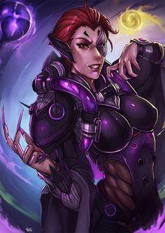 Moira Overwatch by kachima.deviantart.com on @DeviantArt - More at https://pinterest.com/supergirlsart #fanart