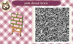 """blitzbijou: """"and last path for today, a lil donut path i made for my new town that i really like. ^-^ I will definitely make this in new colors if requested! """""""