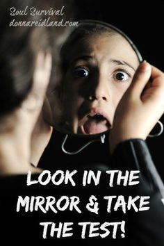 """""""Look in the Mirror & Take the Test"""" October 12 - Take the test: look into the mirror of God's Word and ask yourself, """"Which of these characteristics describe me and which don't?"""" What do your answers tell you about your walk with God, your trust in Him, and your level of spiritual maturity?"""