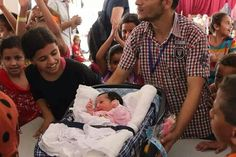 Born today in a UN Shelter in Gaza.