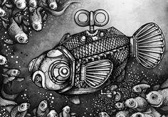 Mothership, Nanami Cowdroy Maneki Neko, Abstract Animals, Nanami, Great Artists, Animal Kingdom, Surrealism, Artsy, Japanese, Artworks