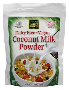 Save on Vegan Coconut Milk Powder by Native Forest and other Coconut Milk and Vegan remedies at Lucky Vitamin. Shop online for Food & Snacks, Native Forest items, health and wellness products at discount prices. Coconut Milk Powder, Organic Coconut Milk, Allergy Free Recipes, Gourmet Recipes, Snack Recipes, Native Forest Coconut Milk, Coconut Water Smoothie, Vegan Milk, Low Calorie Snacks