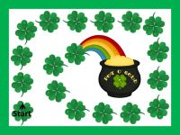 Free!! St. Patrick's Day open ended flashcards & game!!! 6 pages!!!