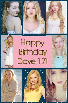 Happy birthday dove cameron 17! I love the show liv and maddie. You also have a very talented voice too. 1-14