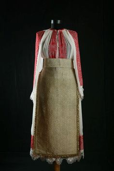 Banat, south-west Romania early 20th century Marius Matei collection Folk Costume, Costumes, Wedding Designs, Boho Chic, High Waisted Skirt, Traditional, Culture, Womens Fashion, How To Wear