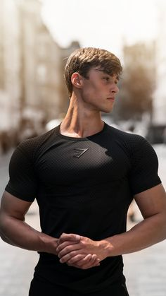 Gymshark Athlete, David Laid.