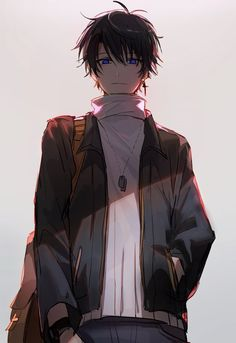 - Everything About Anime Hot Anime Boy, Dark Anime Guys, Cool Anime Guys, Handsome Anime Guys, Anime Boys, Anime Boy Smile, Anime Neko, Chica Anime Manga, Fanarts Anime