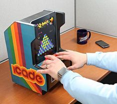 Do you still think of the vintage arcade machine? If you are also the future iPad user, the iCade Arcade Cabinet will be a great iPad gadget for you.