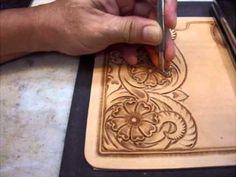 KubotaCraft 2011.09 Wallet Carving 4th step for Makeup tooling ets - YouTube