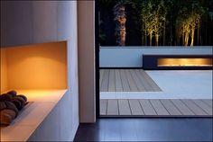 Love the idea of this minimalist terrace
