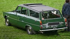 Rover V8 3500P6 Estate was far ahead of it's time really and I love them