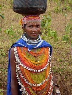 Bonda tribal Woman