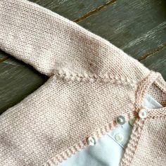 Malha a Malha | Handmade Life: esquema casaco bebé #2 | baby vest pattern #2