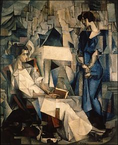 """Diego Rivera (1886-1957), """"Two Women"""", 1914, Collection of the Arkansas Arts Center"""