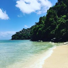 The beach at Cape Panwa Hotel and Spa - photo courtesy of Instagram and minnis_and_moore