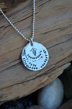 Medical Alert Necklace For Him/Her/Kids Sterling by NamiCharms
