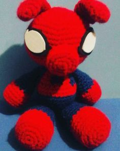 Peluche pig spider.#amigurumi