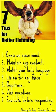 Hungry for God: 7 Tips for Becoming a Better Listener Good Listener, Christian Marriage, Wise Words, How To Become, Prayers, Life Lessons, Life Quotes, Spirituality, Healing