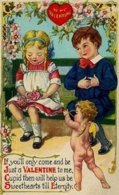 My Funny Vintage Valentine