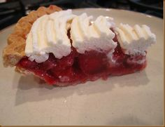 """Gluten Free Strawberry Pie- delicious, I made tonight. Didn't quite have enough strawberries so I stretched them with a couple of handfuls of raspberries in the purée. In the fridge now- hope we can wait til it 'sets'.  Art gets pie for """"Pi day"""" too- 3/14...."""