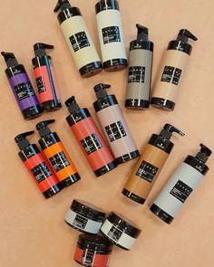 "Sarah Zündorf on Instagram: ""Neu‼️‼️‼️Chroma ID  #semi-permanent #tone-farbsystem #bondingtechnology #abmattierung #auffrischung #pflege #kräftigetönung #mix&tone…"" Tone, Art Supplies, Instagram, Barber Shop Names, Nursing Care, Products"