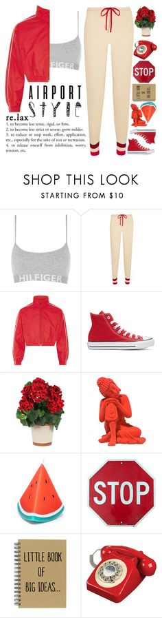 """""""When we like a flower, we tear it and put it in a vase. When we love a flower, we plant it in a pot and let it grow."""" by holly-k15 on Polyvore featuring мода, Tommy Hilfiger, Madeleine Thompson, Vetements, Converse, Nearly Natural, Sunnylife и airportstyle"""