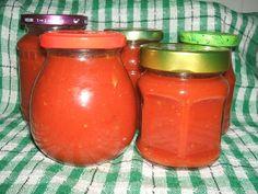 Ketchup, Hot Sauce Bottles, Pesto, Salsa, Delish, Pizza, Soup, Jar, Homemade