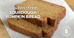 Gluten-Free Sourdough Pumpkin Bread